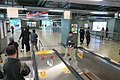 HK 柴灣站 Chai Wan MTR Station concourse Feb 2017 IX1 escalators visitors.jpg