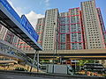 HK 觀塘道 Kwun Tong Road view 觀塘花園大廈 Lotus Towers facade April 2013.JPG