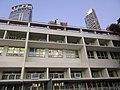 HK CWB 銅鑼灣道 Causeway Bay Road 皇仁書院 Queen's College school building facade 火龍徑 Fire Dragon Path evening Nov 2017 IX1 02.jpg