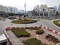HK KT 啟德 Kai Tak 太子道東 Prince Edward Road East footbridge near 彩頤花園 Rhythm Garden December 2020 SSG 08.jpg
