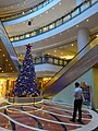 HK Kln Bay Telford Plaza mall interior Xmas Tree visitors Nov-2015 DSC.JPG