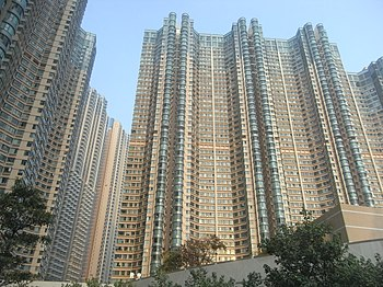 HK Yau Tsim Mong district 07 high rises Feb-2011.JPG