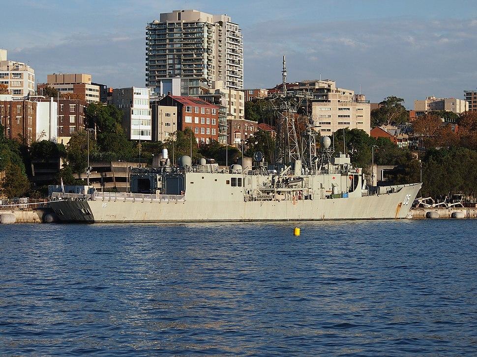 HMAS Melbourne during April 2013