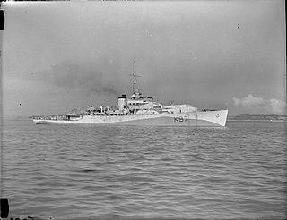 HMS <i>Avon</i> (K97) River-class frigate of the Royal Navy
