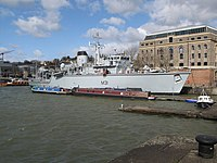 HMS Cattisbrook moored by Arnolfini Gallery - geograph.org.uk - 371304.jpg