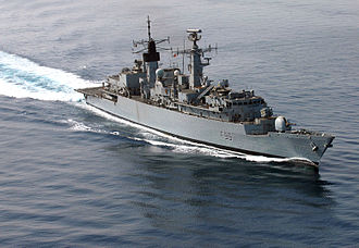 Type 22 frigate - Image: HMS Cornwall F99