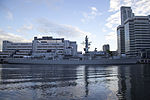HMS Northumberland (F238) at West India South Dock 01.jpg