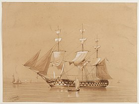 Image illustrative de l'article HMS Revenge (1805)