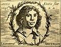 HUA-104812-Portret van Leonardus Gouwerack geboren 1624 graanhandelaar te Utrecht uitgever van het Utrechtse liederenboekje Erato overleden 1670 Borstbeeld recht.jpg