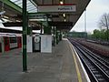 Hainault station platform 3 look south.JPG