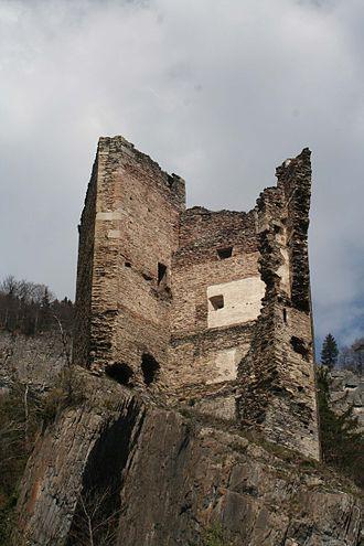 Haldenstein - Image: Haldenstein Ruine