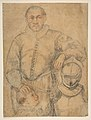 Half-Length Study of a Man Standing in Frontal View, Leaning on Armor and Accompanied by a Boy MET DP812301.jpg
