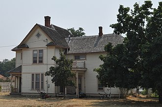National Register of Historic Places listings in Ravalli County, Montana - Image: Hamilton MT Alison Reinkeh House