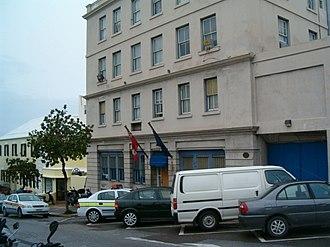 Bermuda Police Service - The former Hamilton Police Station in 2006