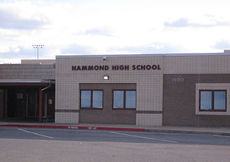 Kings Contrivance, Columbia, Maryland - Hammond High School