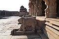 Hampi, India, Stone sculptures of Sri Krishna Temple, Ancient ruins of Hampi.jpg