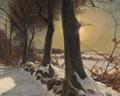 Hans Agersnap - Vinterlandskab ved Vejle - 1923.png