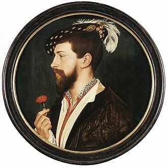 Blackwork - Image: Hans Holbein d. J. 056