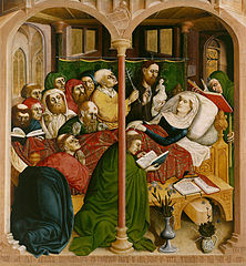 The Death of Mary (Wurzach altarpiece)
