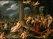The Marriage of Peleus and Thetis, by Hans Rottenhammer