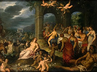 Aeacidae - Marriage of Peleus and Thetis.