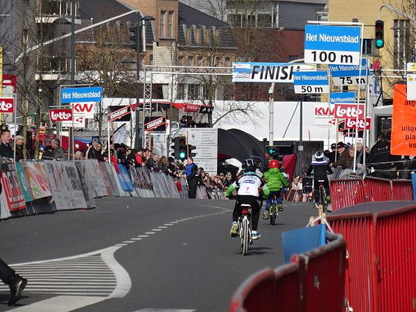 Harelbeke - Driedaagse van West-Vlaanderen, etappe 1, 7 maart 2015, aankomst (A02).JPG