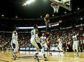 Harrison Barnes dunk USA Basketball Blue vs White game Las Vegas 2013.jpg
