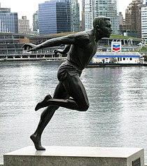 Harry Jerome, statue, Vancouver.jpg