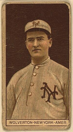Harry Wolverton - A baseball card featuring Wolverton