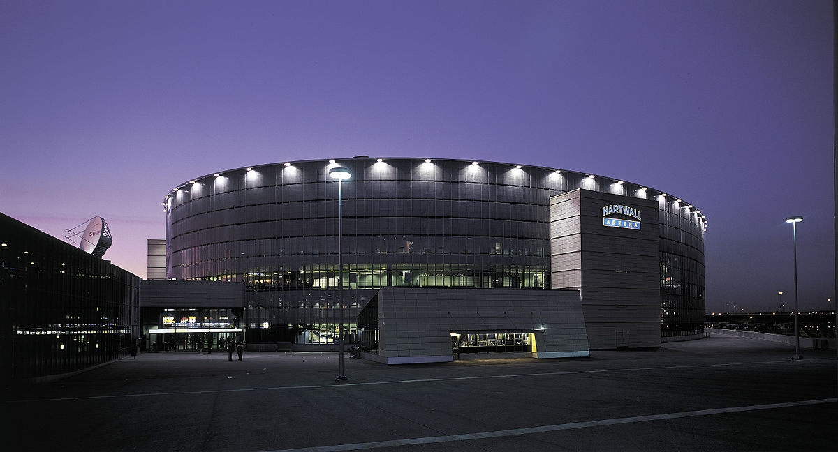 Hartwall Arena Katsomot