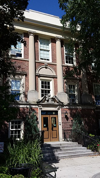 Hastings High School (New York) - Image: Hastings High School Front Entrance Portrait