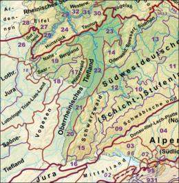 nordfranzösisches schichtstufenland