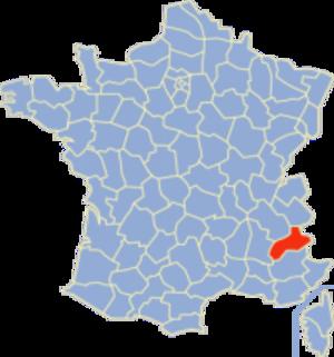Communes of the Hautes-Alpes department - Image: Hautes Alpes Position