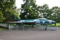 Hawker Hunter Mk 56 - Fighter Aircraft - IAF BA335 - Hijli Detention Camp Converted Hijli Shaheed Bhavan Premises - IIT Kharagpur - West Midnapore 2015-09-28 4650.JPG