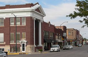 Hays, Kansas - Main Street in Downtown Hays (2014)
