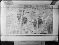 Heads of robbers posted on a billboard at Nanking, China ATLIB 305965.png