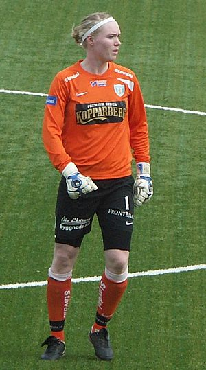 Hedvig Lindahl - Lindahl playing for Göteborg