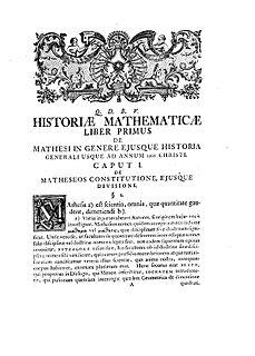 Johann Christoph Heilbronner German mathematical historian and theologian