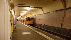 Heinrich-Heine-Straße (Berlin U-Bahn) - Heinrich-Heine-Straße U-Bahn station