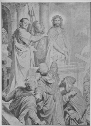 Pilate Pontius and Christ before the Jews