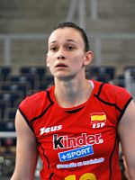 Helia Gonzalez - FIVB World Championship European Qualification Women Łódź January 2014.jpg