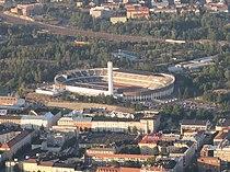 Helsinki Olympic Stadium from air.JPG