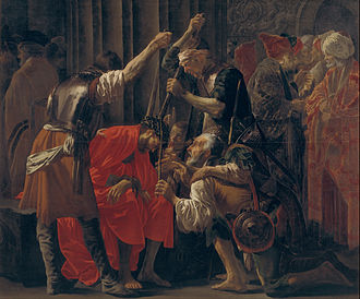 Hendrick ter Brugghen - Christ Crowned with Thorns (1620), 240 x 207 cm, Statens Museum for Kunst, Copenhagen
