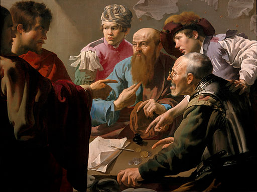 Hendrick ter Brugghen - The calling of Saint Matthew - Google Art Project