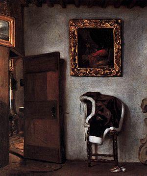 Hendrick van der Burgh - Dutch Interior