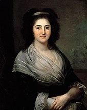Henriette Herz, porträtiert von Anton Graff, 1792 (Quelle: Wikimedia)