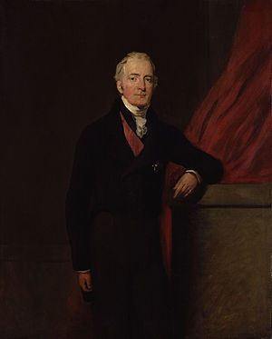 Henry Bathurst, 3rd Earl Bathurst - Portrait of Henry Bathurst, 3rd Earl Bathurst by William Salter
