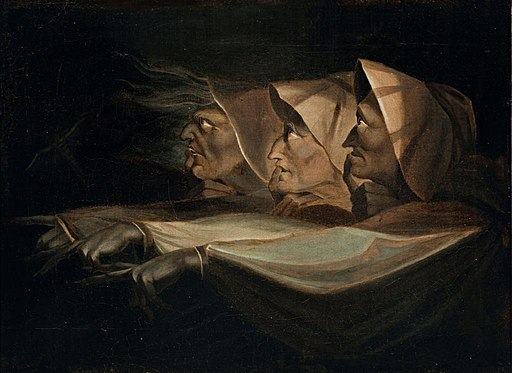 Henry Fuseli - Study for the three witches in Macbeth - 1980-8 - Auckland Art Gallery