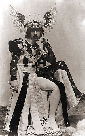 Henry Paget, 5th Marquess of Anglesey - Paget, in about 1900, by Welsh photographer John Wickens