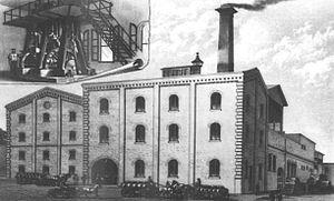 Henry Weinhard's - Henry Weinhard's brewery, 1888